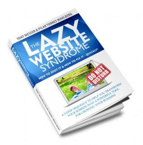 Lazy Website Book Mock 09