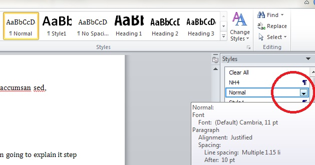 Changing fonts