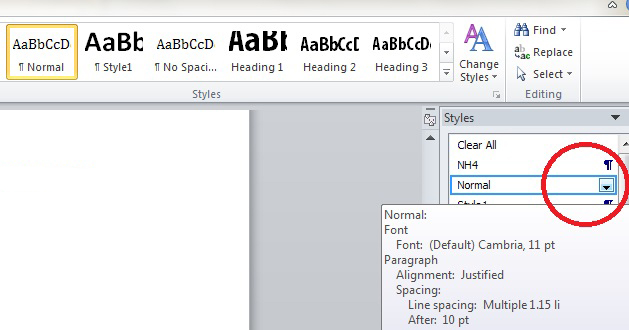 How to Use Style sheets in Microsoft Word to help improve