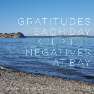 A gratitude a day, keeps the negatives at bay